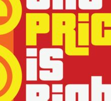 The Price Is Right Game Show Sticker