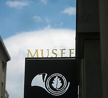Musee_Nature_Street_Sign by Keith Richardson