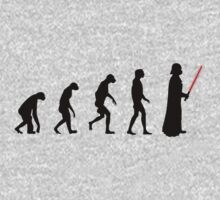 Evolution of the dark side One Piece - Long Sleeve