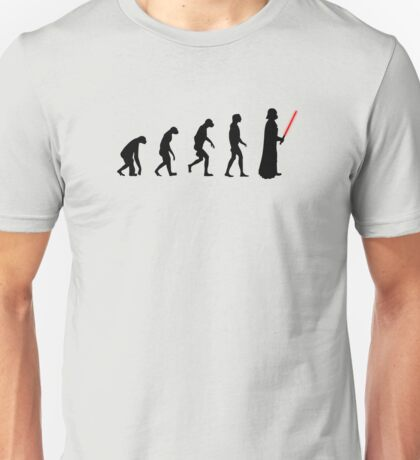 Evolution of the dark side Unisex T-Shirt