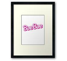 BAE BAE Framed Print