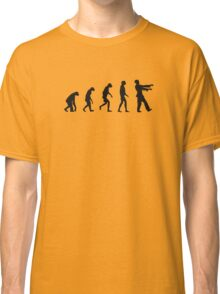 Evolution of Zombies (Zombie Walking Dead) Classic T-Shirt