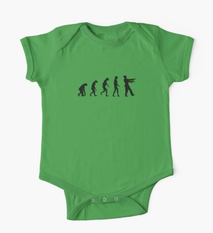 Evolution of Zombies (Zombie Walking Dead) Kids Clothes