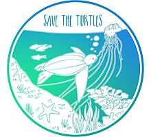 Save the Turtles! Photographic Print