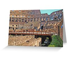 Roman Colosseum  Greeting Card
