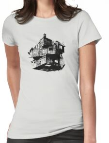The Cabin In The Woods Womens Fitted T-Shirt