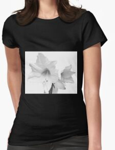 White Amaryllis Flower T-Shirt
