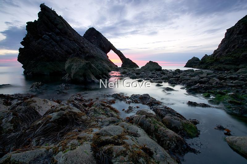 Bow Fiddle Rock, Scotland by Neil Gove