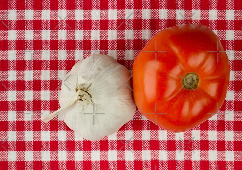Garlic and Tomato by BlinkImages