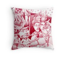 Summer time Concert in the park Throw Pillow