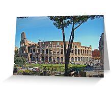 Roman Colosseum II Greeting Card
