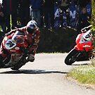 First lap, first corner. by Finbarr Reilly