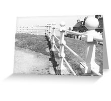 Footdee Railings Greeting Card