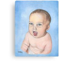 BABY RORY/Oil on canvas Canvas Print