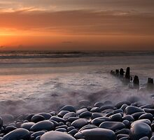 Westward Ho Groyne by Robert Kendall