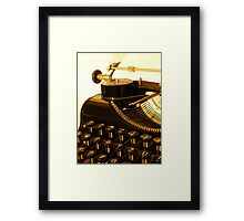 Time machine... Framed Print