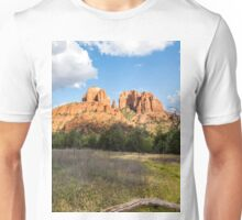 Cathedral Rock From Open Field Unisex T-Shirt