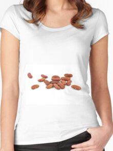 Beans Women's Fitted Scoop T-Shirt
