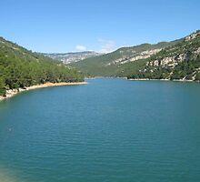 Lakes of 'La Senia II', Costa del Azahar, Spain by Sabine Jacobsen [SJArt]