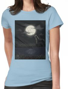 In the Moonlight Womens Fitted T-Shirt