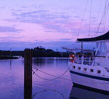 Brunswick Heads Boats #3 by Virginia McGowan