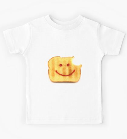 Bread with Happy Face Kids Tee