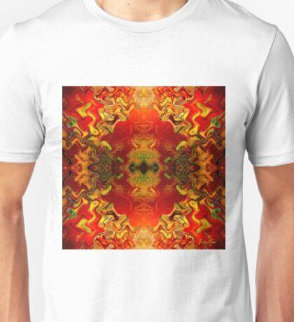 RetrOilGlow (signed) Unisex T-Shirt