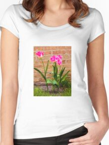 Tulips Women's Fitted Scoop T-Shirt