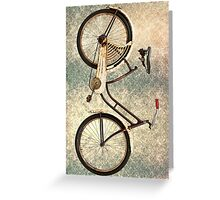 Vintage Cycle Mobile Greeting Card