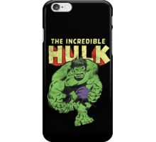 The Incredible hulk iPhone Case/Skin