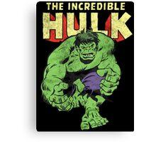 The Incredible hulk Canvas Print
