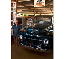 Still going strong - '52 Ford Freighter Photographic Print