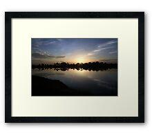 Summer Morning Light  Framed Print