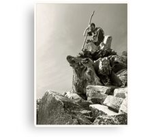 Wizzard of rocks Canvas Print