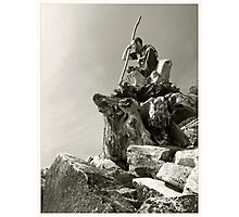 Wizzard of rocks Photographic Print