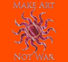 Art not War T - Shirt by Jarede Schmetterer