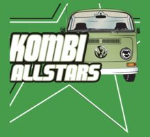 Volkswagen Kombi Tee Shirt - Kombi Allstars Lowlight by KombiNation