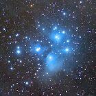 M45 - Pleiades (Seven Sisters) by Jeff Johnson