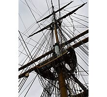Rigging Too Photographic Print
