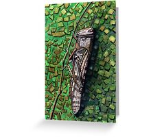 162 - THE DESERT LOCUST - WATERCOLOUR - 2006 Greeting Card
