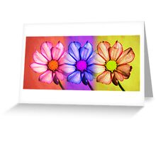 Floral Trio Greeting Card