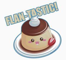 Cute Pun: Flan-tastic Flan Kids Clothes