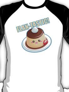 Cute Pun: Flan-tastic Flan T-Shirt