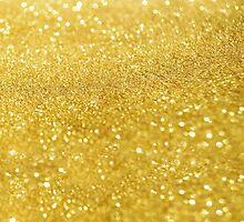 Gold Glitter by d-zine