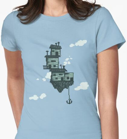 Sky Shack Womens Fitted T-Shirt