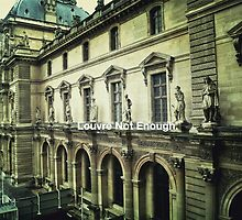 Paris The Louvre  by ButterClothing