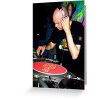 DJ Seraphim Greeting Card