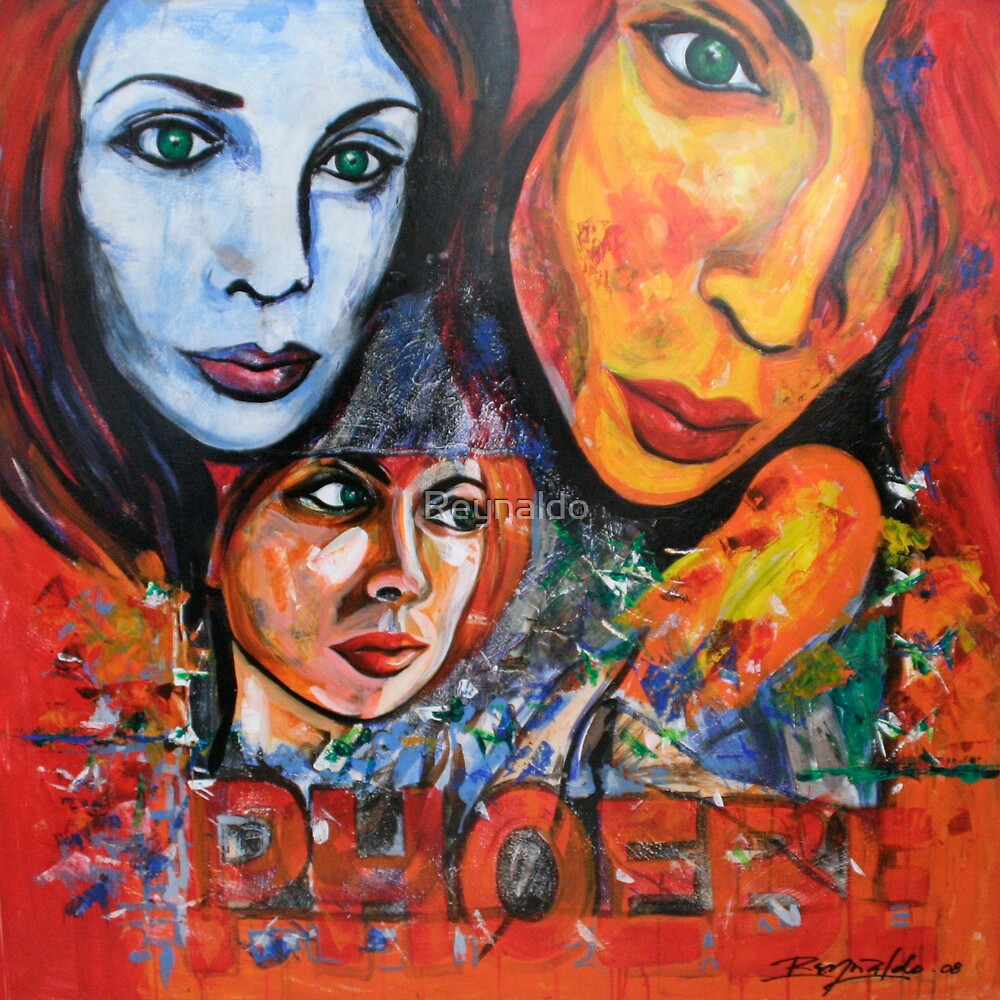 Those Lovely Green Eyes of Phoebe by Reynaldo