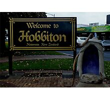 Matamata - Hobbiton New Zealand Photographic Print