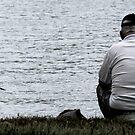 fisherman 1 by Gregory  Wynn